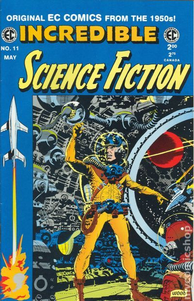 'The EC Archives: Incredible Science Fiction' is impressive by any time period's standards