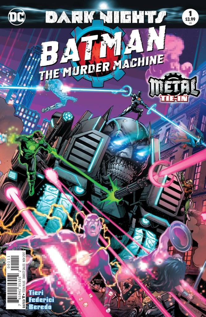 DC Preview: Batman: The Murder Machine #1