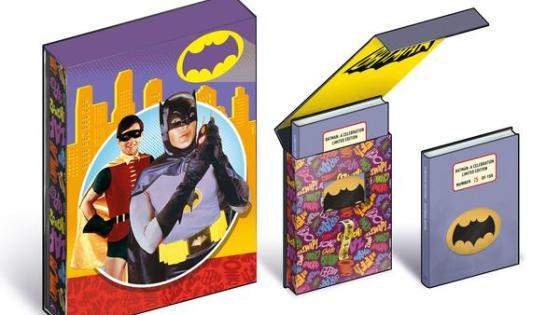 Get your hands on the Adam West signed collector's edition of Batman: A Celebration of the Classic TV Series