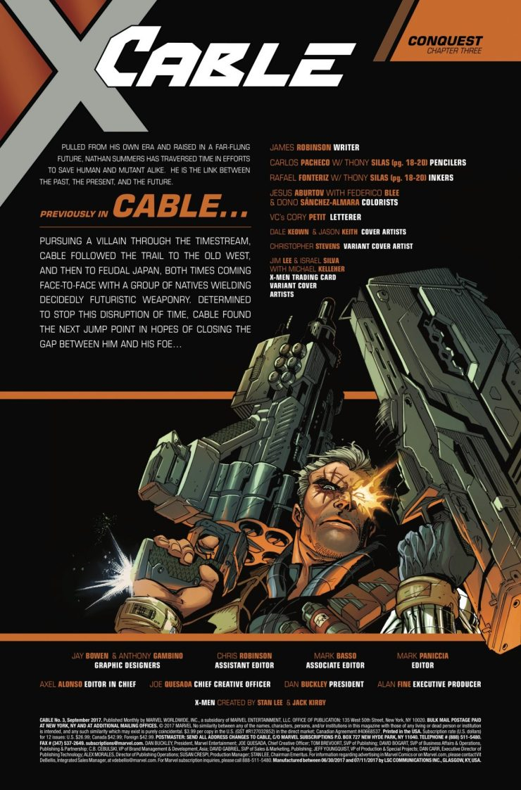 Marvel Preview: Cable #3