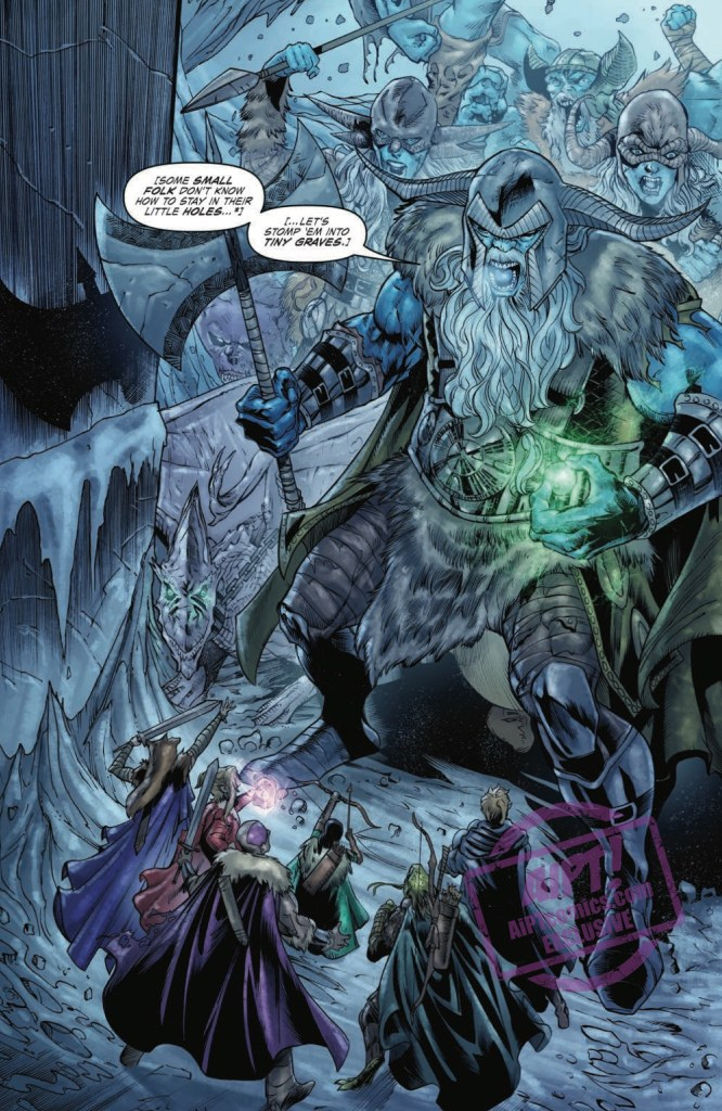 [EXCLUSIVE] IDW Preview: Dungeons & Dragons: Frost Giant's Fury #5
