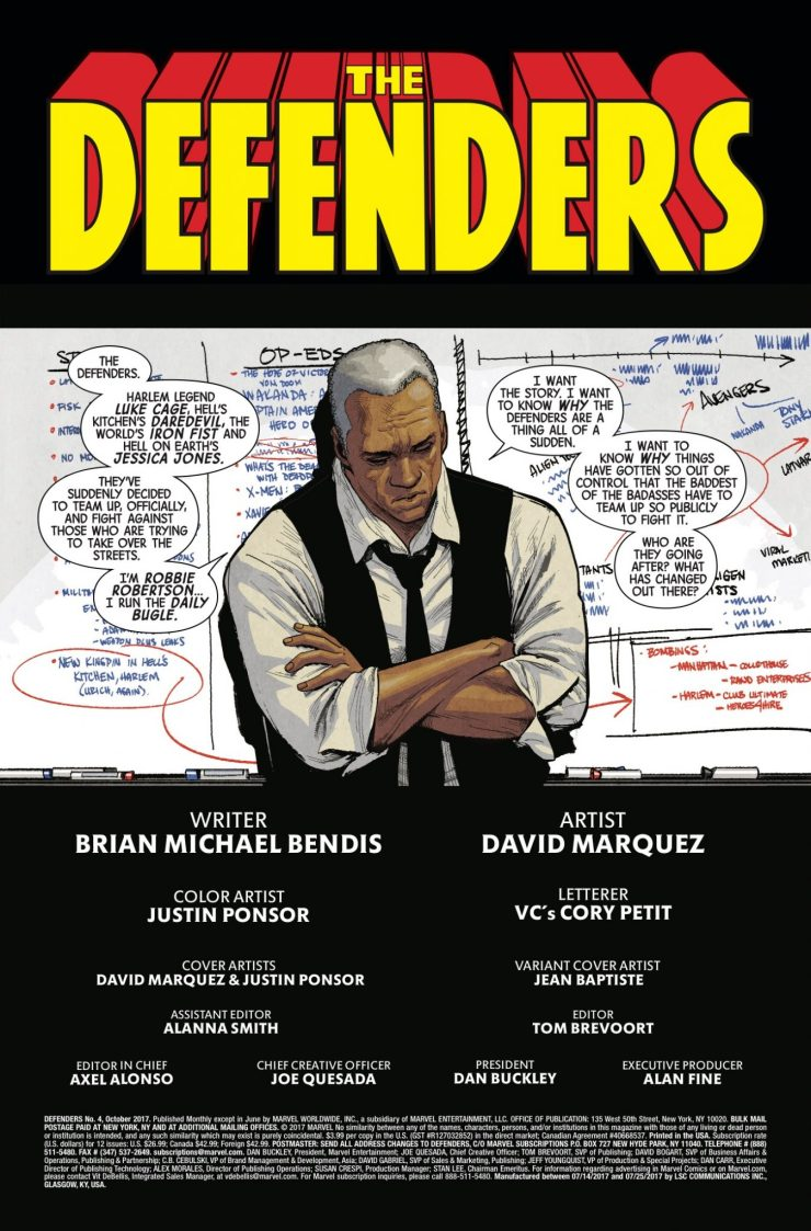 Marvel Preview: The Defenders #4