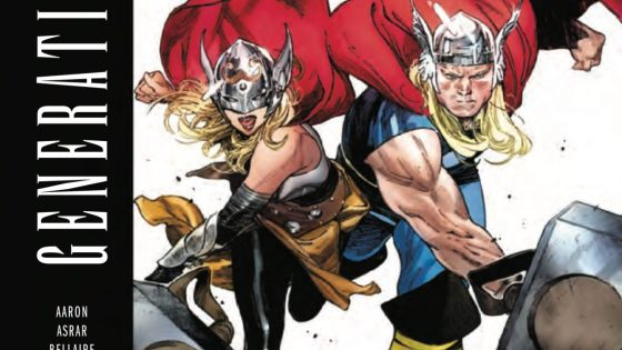 HER HAMMER, HIS AX: A WORTHY APOCALYPSE. * When a battle goes south, Thor finds herself in ancient Egypt - facing a young Odinson!