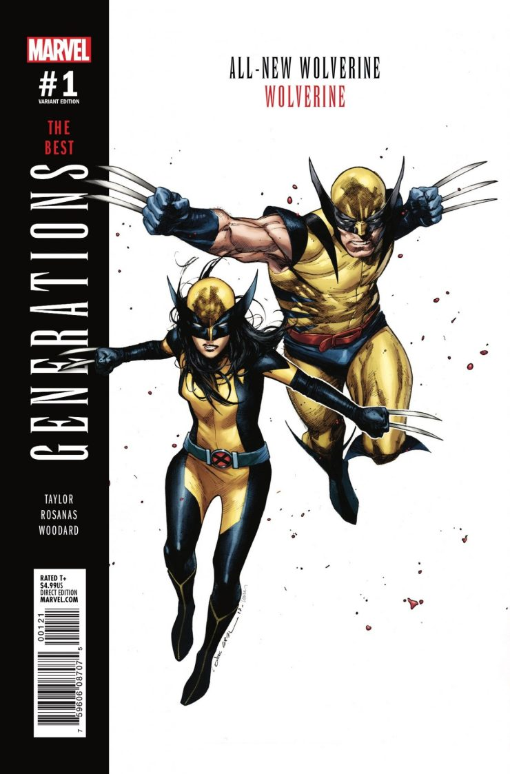 Marvel Preview: Generations: Wolverine & All-New Wolverine #1