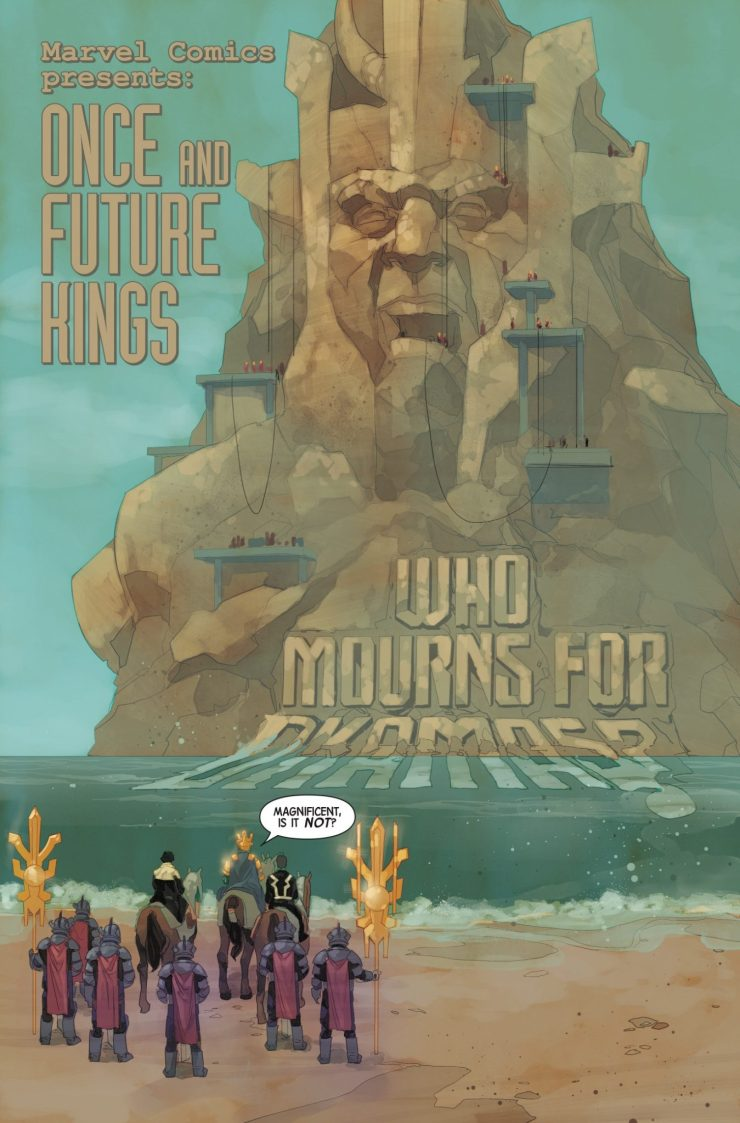Marvel Preview: Inhumans: Once and Future Kings #1