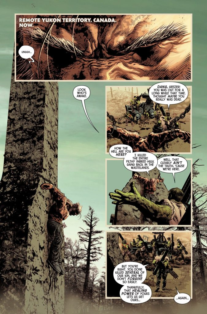 Marvel Preview: Old Man Logan #27