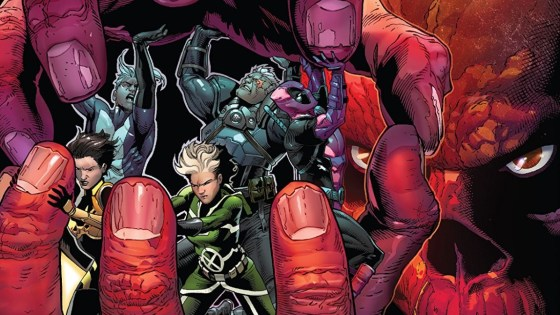 What sacrifices will the Uncanny Avengers be forced to make to break free of the Red Skull's diabolical deathtrap?