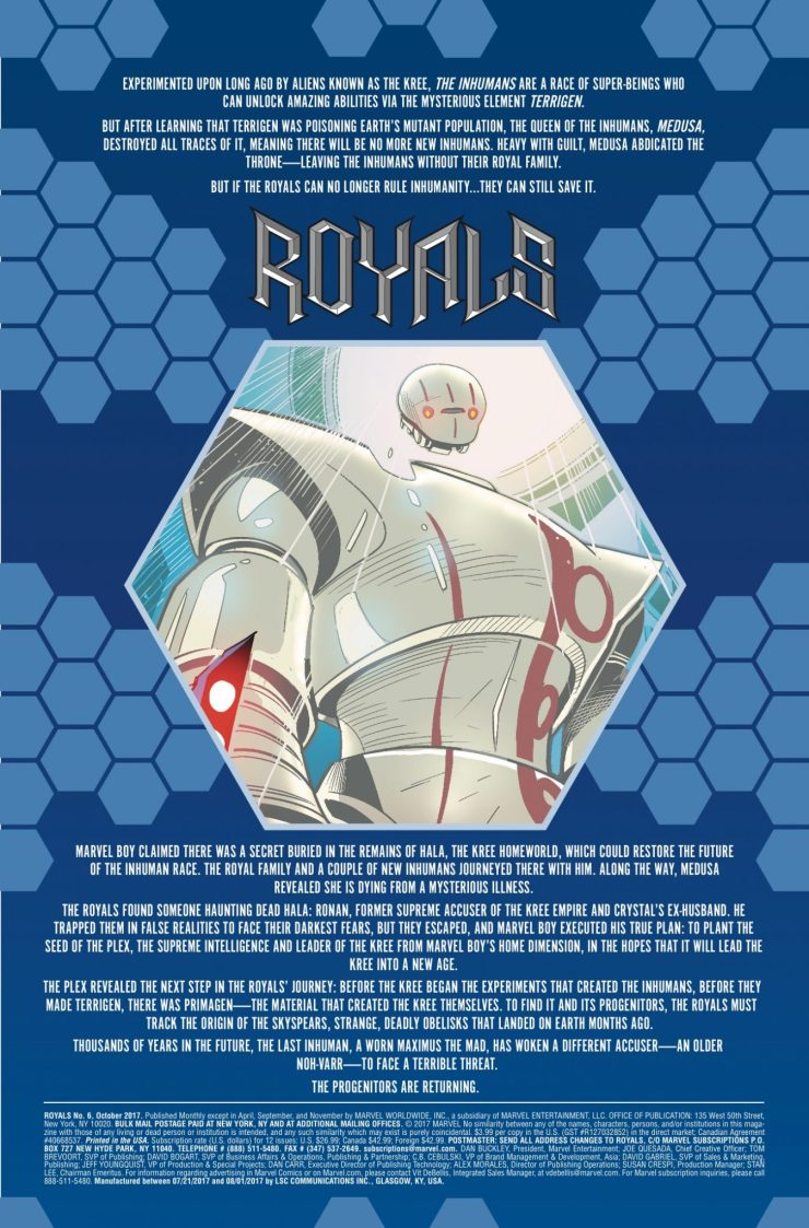 Marvel Preview: Royals #6