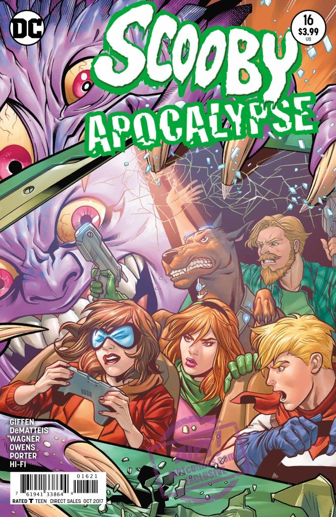 [EXCLUSIVE] DC Preview: Scooby Apocalypse #16