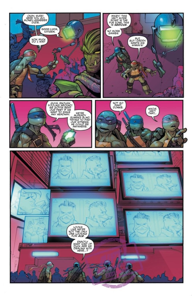 [EXCLUSIVE] IDW Preview: Teenage Mutant Ninja Turtles: Dimension X #4