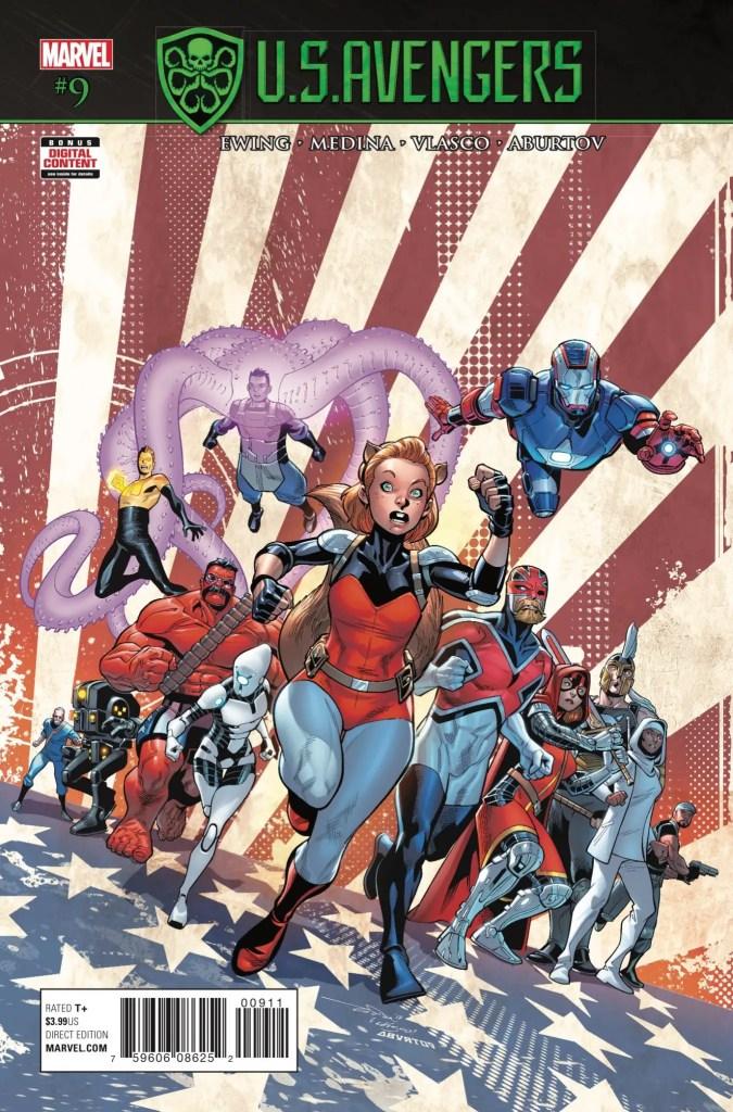 Marvel Preview: U.S. Avengers #9