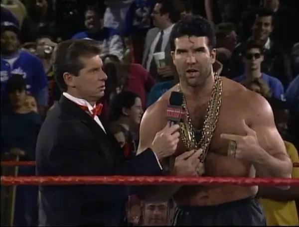 Vince McMahon Interviewing Razor Ramon