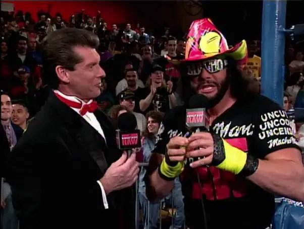 Vince McMahon and Randy Savage
