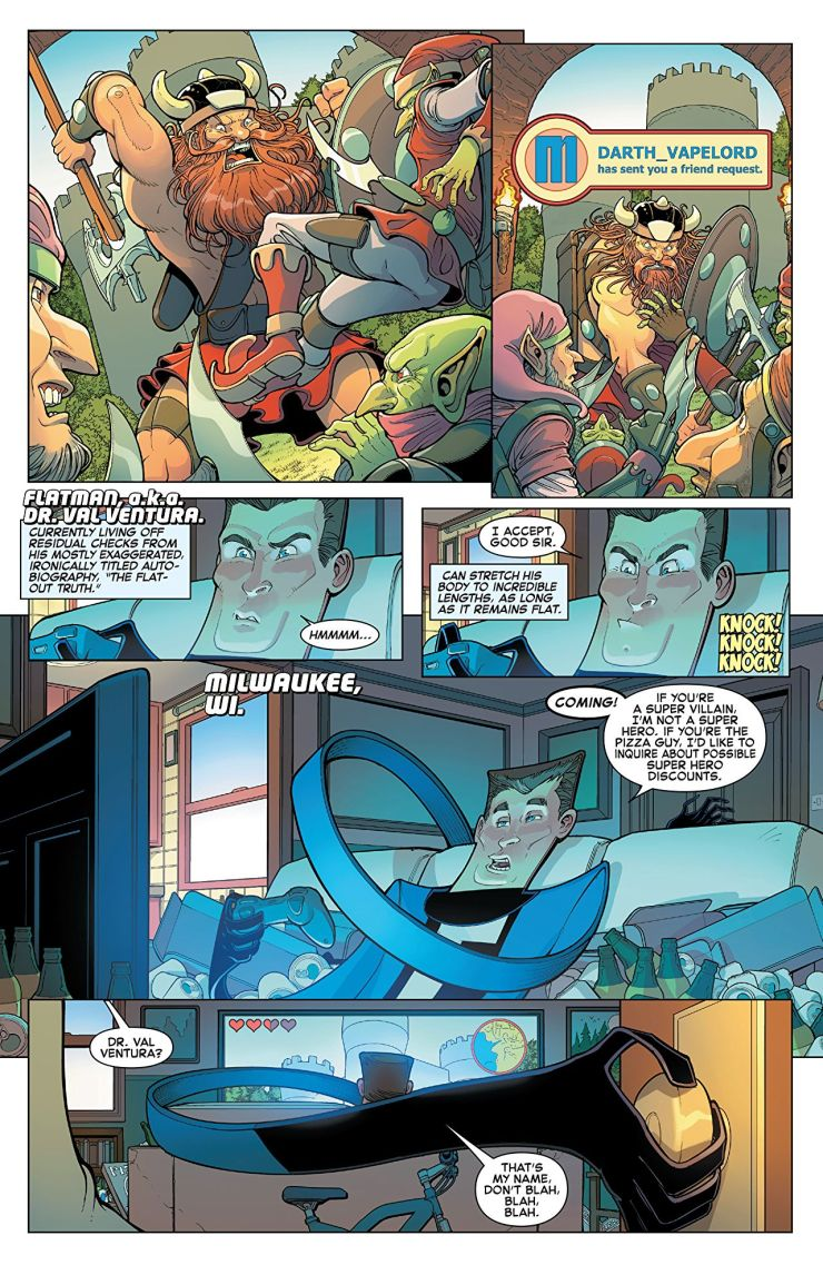 'Great Lakes Avengers: Same Old, Same Old' review: Potentially great, but lacks the right pace