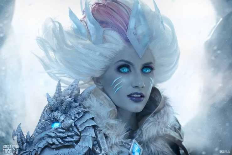 Hearthstone: Frost Lich Jaina cosplay by Narga