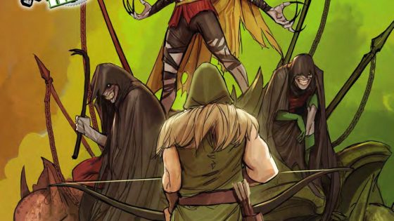 Green Arrow #32 Review