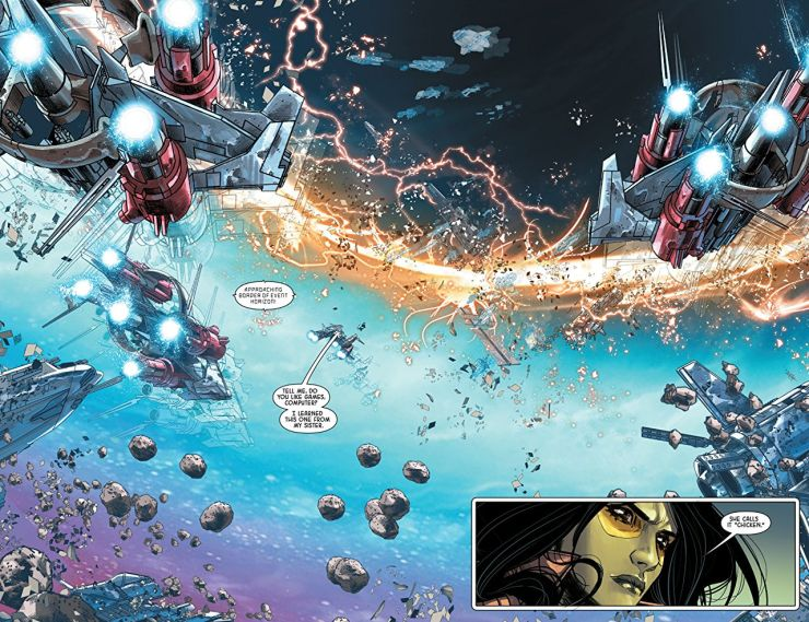 'Gamora: Memento Mori' review: A fun sci-fi book, but the title character plays second fiddle