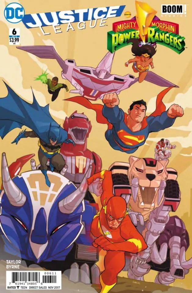 Justice League/Power Rangers #6 Review