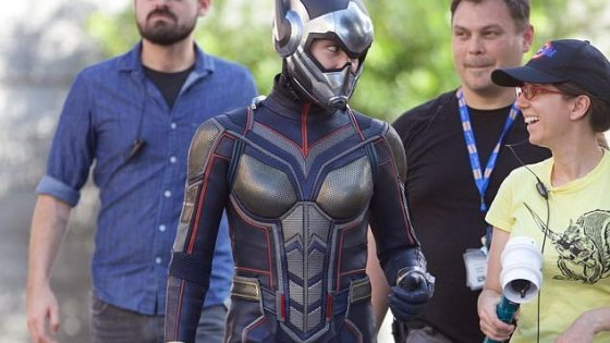 Images of Evangeline Lilly in Wasp costume flutter onto Twitter