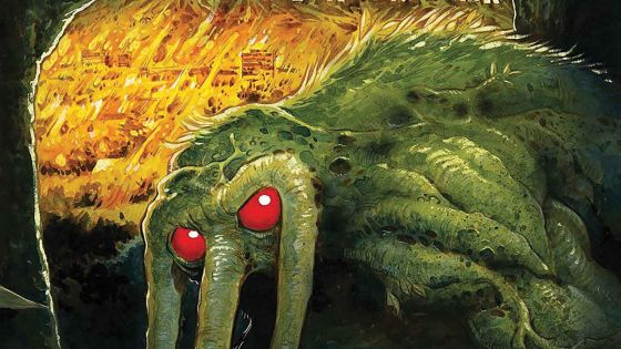 As much as I had hoped that I could say that R.L. Stine's Man-Thing was worth reading, I cannot.