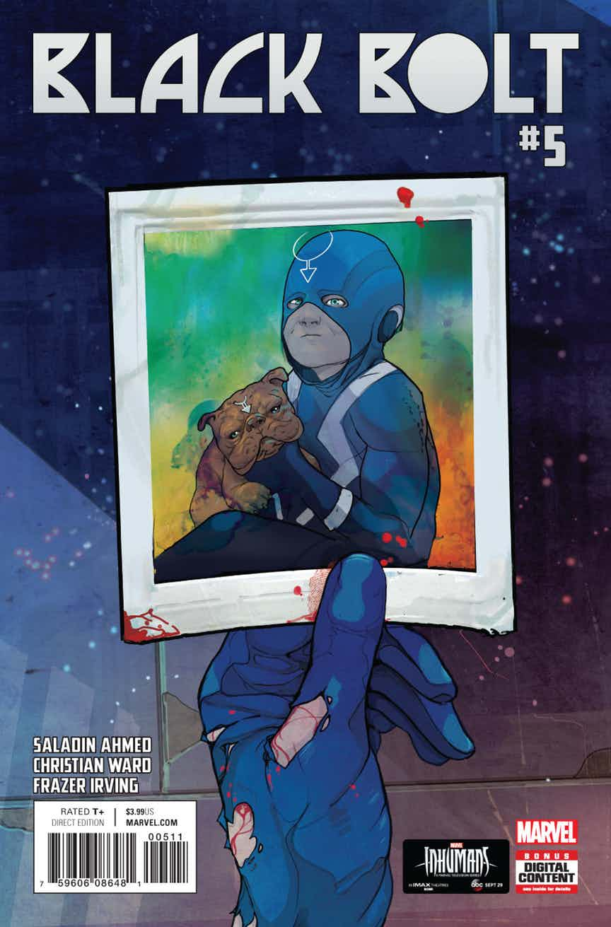 Black Bolt #5 Review