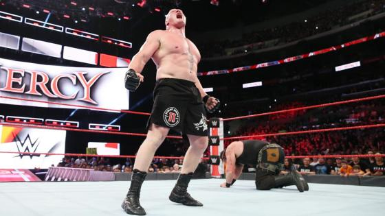 Brock Lesnar, Braun Strowman