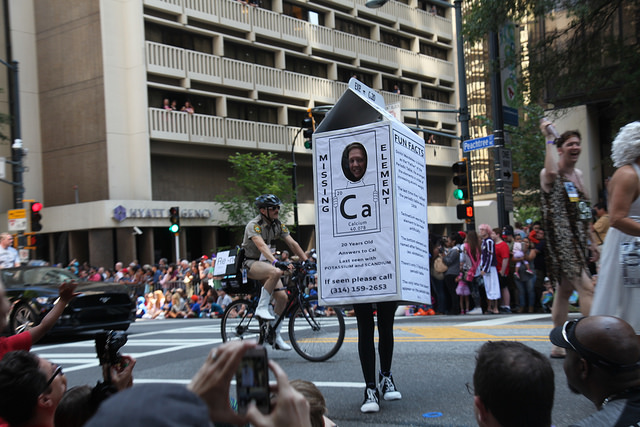 Dragon Con gets scientific with the Parade of Elements