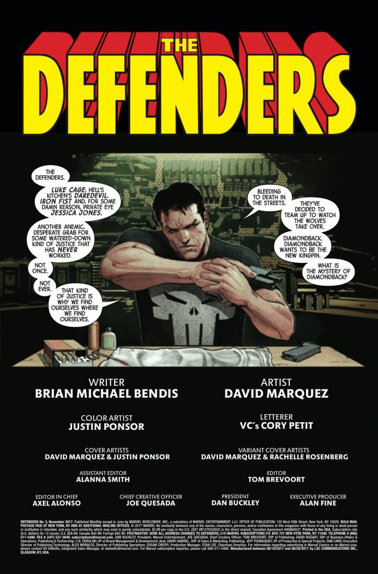 Marvel Preview: Defenders #5