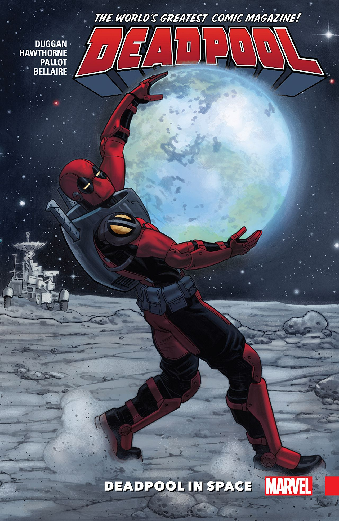 'Deadpool: World's Greatest Vol. 9: Deadpool in Space' review: Wade Wilson's cosmic shenanigans are some of his best