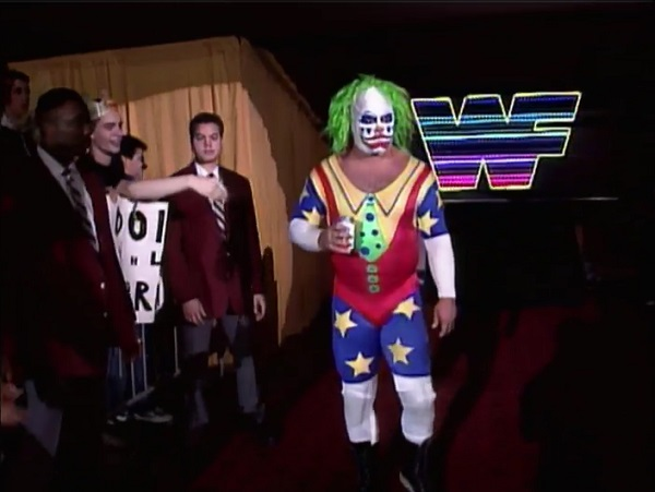 Doink Drinking A Pepsi