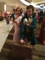Queenie and Newt Scamander from Fantastic Beasts and Where to Find Them