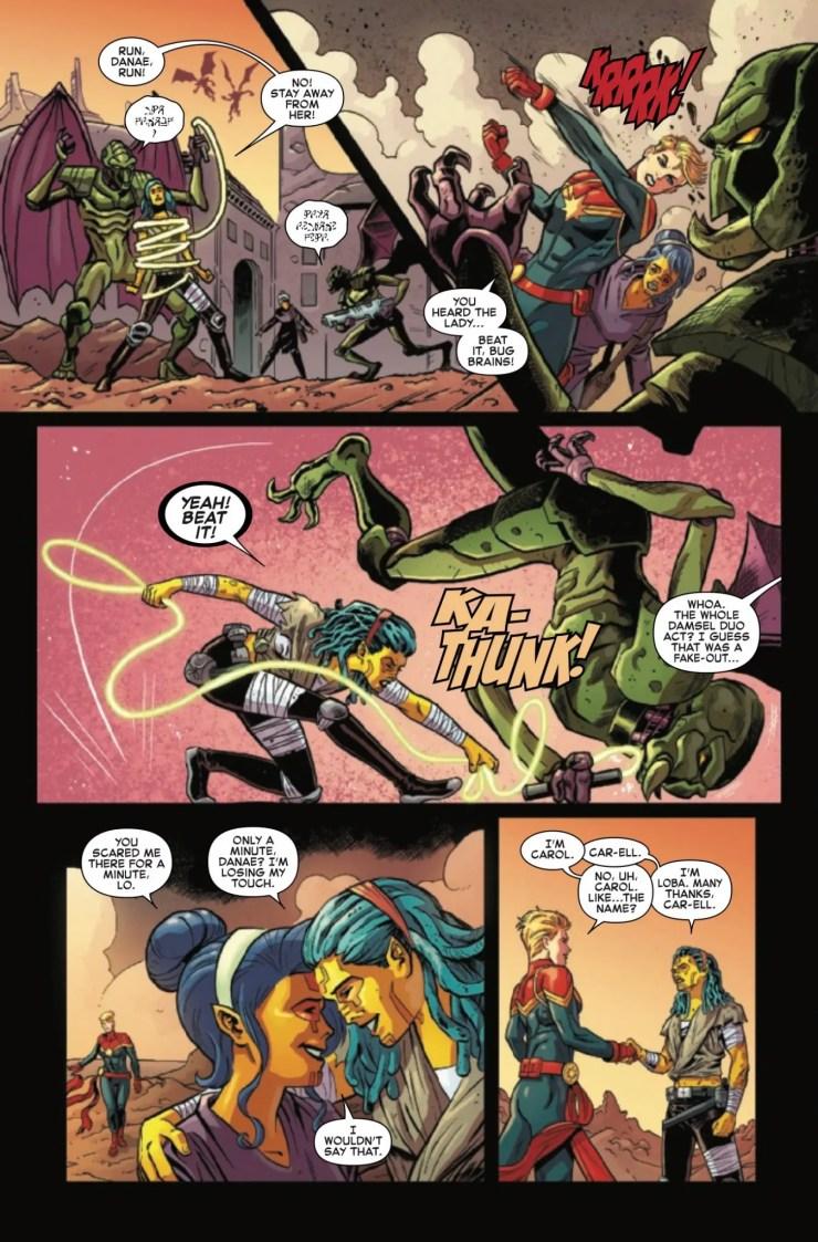 Marvel Preview: Generations: Captain Marvel & Captain Mar-vell #1
