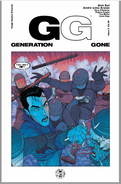Generation Gone #3 review: the cracks begin to show