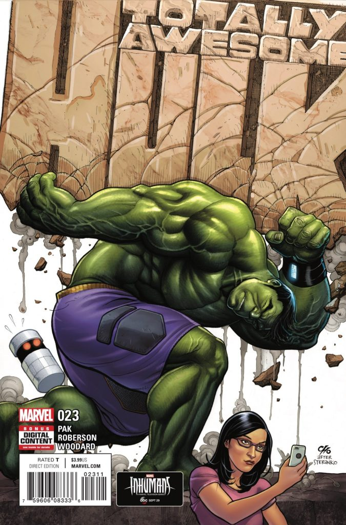 Marvel Preview: Totally Awesome Hulk #23
