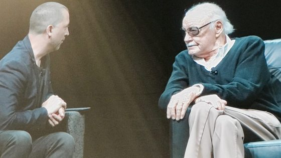 At HASCON 2017, Stan Lee revealed he's spoken to Leonardo DiCaprio about playing him in a film.