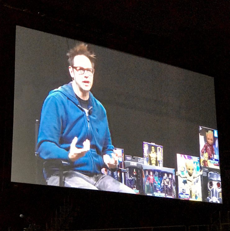 HASCON 2017: Creative advice from writer-director James Gunn - Finish what you start