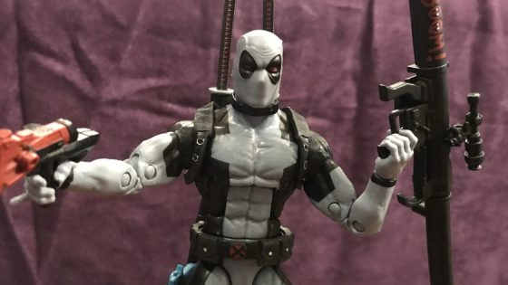 Unboxing/Review: HASCON-exclusive Marvel Legends Uncanny X-Force Deadpool figure