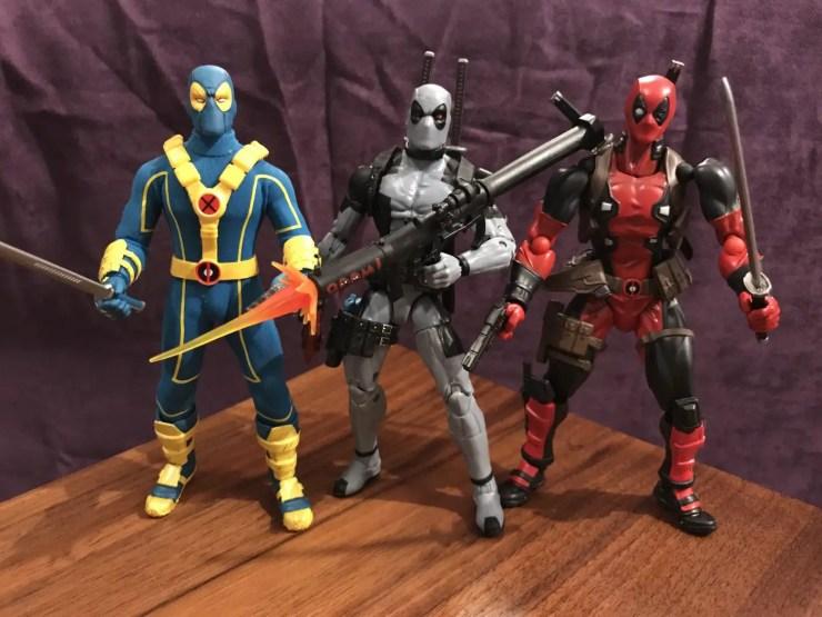 Unboxing/Review: HASCON-exclusive Marvel Legends Uncanny X-Force Deadpool figure
