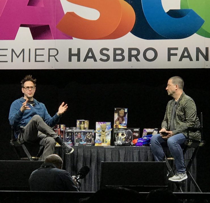 HASCON 2017: James Gunn teases the future of Marvel Cosmic Universe
