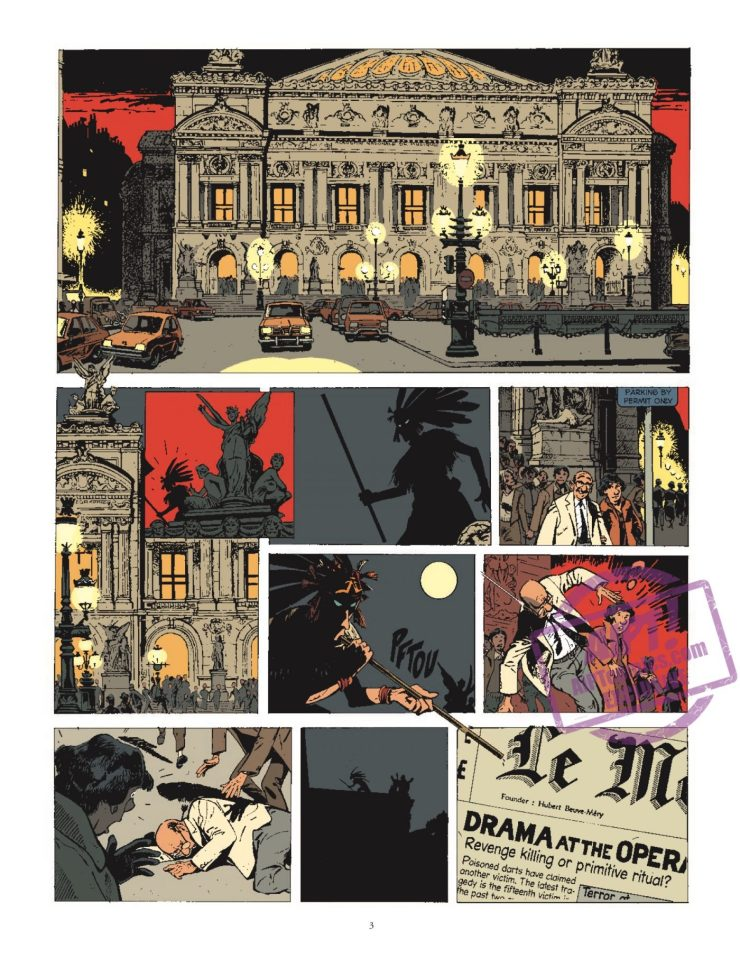 [EXCLUSIVE] IDW Preview: Jerome K. Jerome Bloche Vol. 1: The Shadow Killer