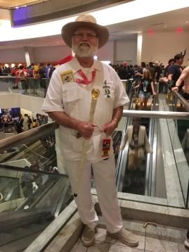 John Hammond from Jurassic Park