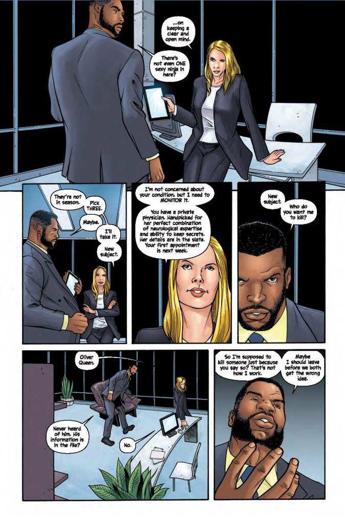 DC Preview: Wildstorm: Michael Cray #1