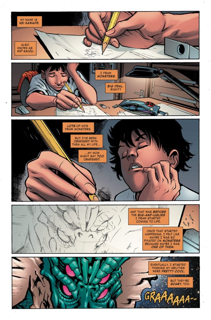 Marvel Preview: Monsters Unleashed #6