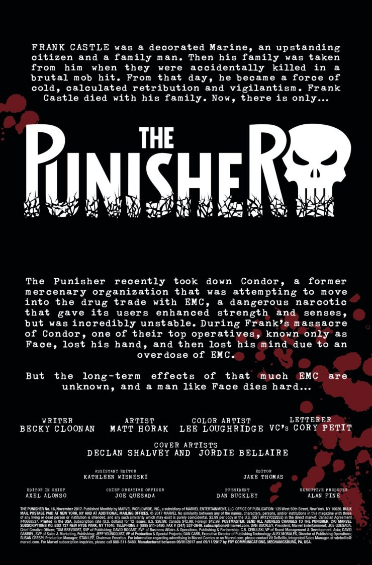 Marvel Preview: The Punisher #16