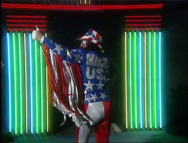 Randy Savage in USA Attire