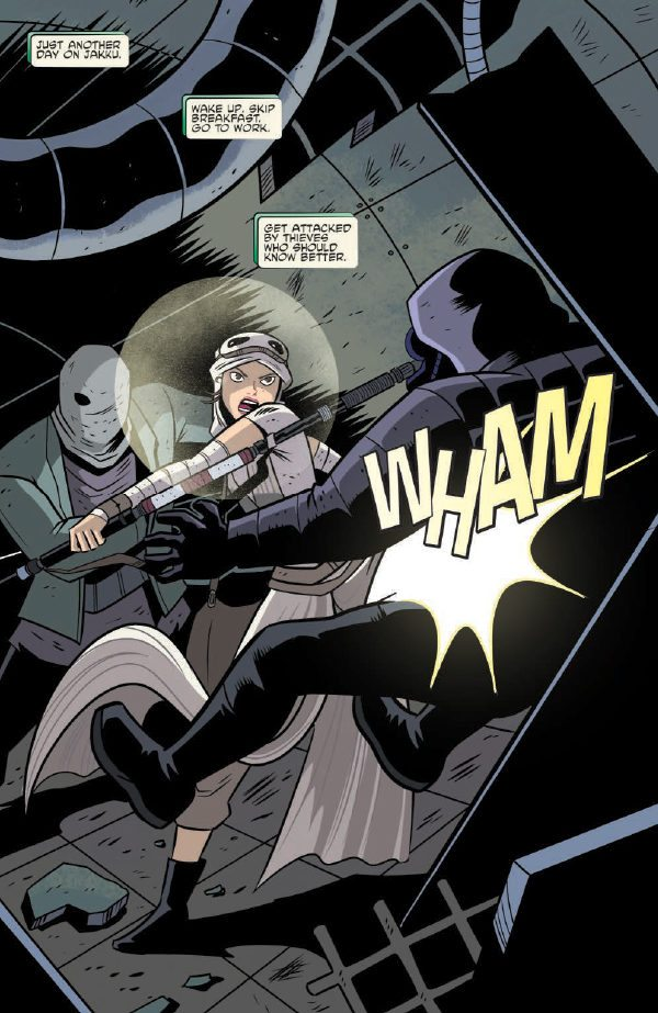 Star Wars Adventures #1 Review