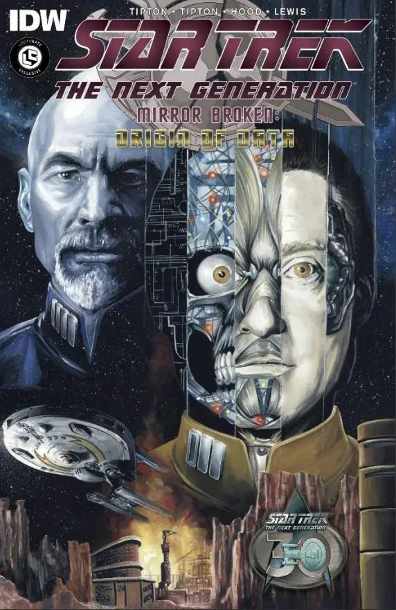 Star Trek The Next Generation: Mirror Broken: Origin of Data Review