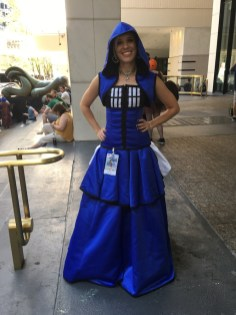 TARDIS dress from Doctor Who
