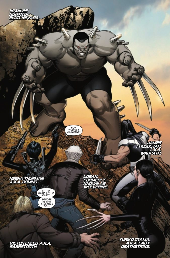 'Weapon X Vol. 2: The Search for Weapon H' review
