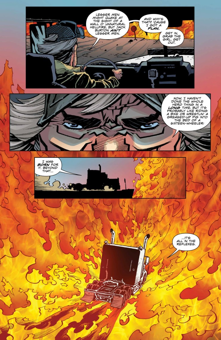 Big Trouble in Little China: Old Man Jack #1 Review